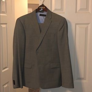 Men's Tommy Hilfiger 3-piece grey suit